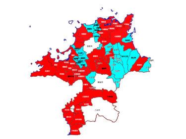 【2020年まとめ】福岡県のコロナ感染状況のMAPを作成。世代別、住所別、性別から見る福岡県の感染状況